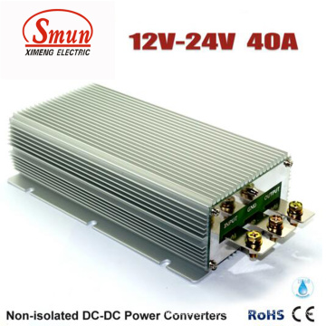 Fuente de alimentación impermeable del convertidor DC-DC 12V a 24V 40A 960W
