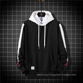 Fashion Casual Loose Sports Top Color Block Print Hoodie