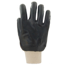 interlock PVC working gloves with smooth finish
