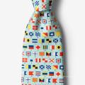 Mens Silk Necktie Manufacturer Custom Printed American Maryland Flag Neck Tie