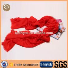 Printemps tissé long mongolian écharpe de cachemire pur