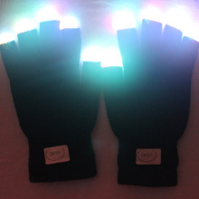 Halloween Led Gloves Light With Cotton