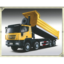 6X4 Front Lifting System Iveco Dumper Heavy Truck