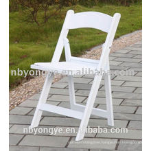 wedding resin folding chair