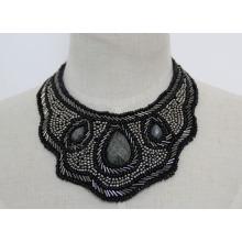 Hohe Qualität Zirkon Kostüm Modeschmuck Halskette Kragen (JE0049)