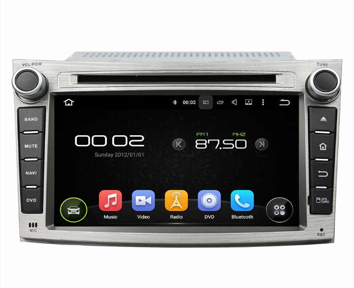 8 inch Subaru Legacy outback car dvd player