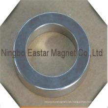 N48 imán de anillo grande permanente tierra rara del neodimio