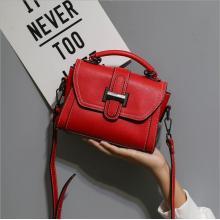Neu Schwarz Mini Sling Satchel Bag für Damen