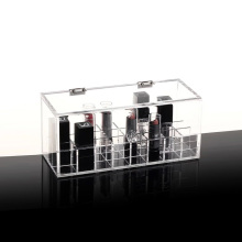 Custom Acrylic Makeup Organizer Storage Box Case