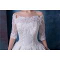 Vintage Ballkleid Frauen Hochzeitskleid mit Schwanz