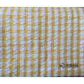 Plaid yang berwarna-warni 100% Cotton Seersucker Fabric