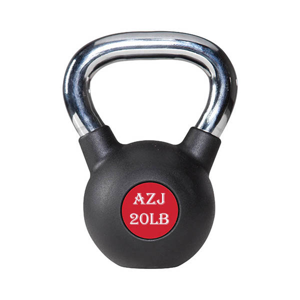 Rubber Coated Kettlebell 20lb
