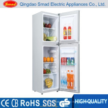 Refrigerador da porta dobro do agregado familiar 118L, refrigerador home, refrigerador do combi
