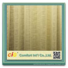 Yarn Dyed Cross Grain Sheer Curtain Fabric Cross Curtain