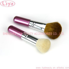 2015 Special Desigh goat hair cosmetic blush brush Face Powder Foundation