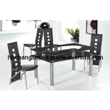 Hot Selling New Design Cheaper Glass Dining Table