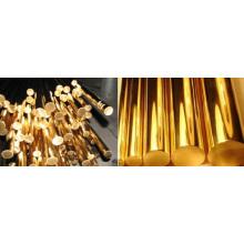 Barres de cuivre massif / barres de cuivre pur / bonne conductivité électrique pour barres de cuivre
