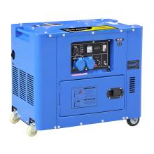 Grupo electrógeno de potencia silenciosa de nuevo modelo (6.5KW)