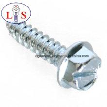 Parafuso de cabeça hexagonal de aço carbono de preço de fábrica M4