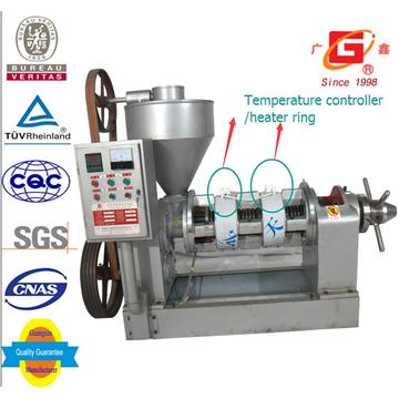Máquina automática da imprensa do óleo da imprensa do óleo da imprensa de temperatura automática