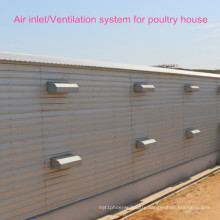 High Quality Poultry Equipment Ventilation System for Poultry House