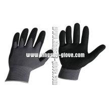 Waterbase PU Nitrile Foam Work Glove-5036