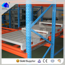 Economical Industrial Selective Metal Push Back Pallet Rack