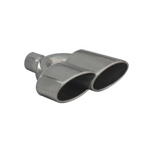 Dual Exhaust Tip Slant Cut