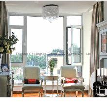 Окно casement алюминия для виллы и резиденции (фут-W135)