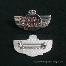 Insigne en gros fait sur commande de Pin de haute qualité, insigne en métal