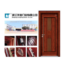 Interior MDF Wooden Door Veneer Door (LTS-402)