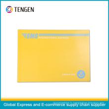 Enveloppe de carton personnalisée de haute qualité avec la bande ouverte facile