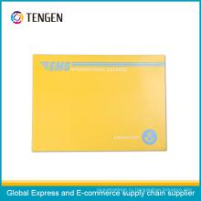 Высокое качество подгонять Картонный конверт с легкой открытой прокладки