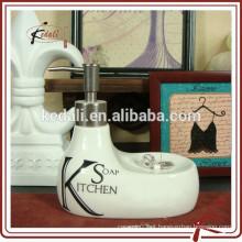 New Design 2015 Duck forma cerâmica porcelana loção garrafa