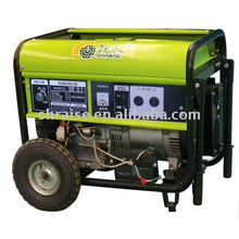 8KW moveable generator with wheels