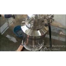 Preço do misturador do pó do misturador líquido contínuo contínuo do fornecedor de China