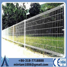 2015 high quality hot sale beautiful ornamental double loop wire fence