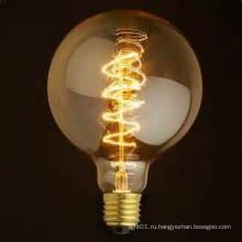 Завод Прямой Продажи Проекта G95 Старинные Эдисон Лампы Лампы Глобус 32 Якоря