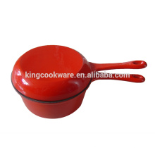 yellow enamel coating cast iron cookware