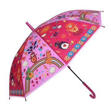 Nettes kreatives Tierdruck-Kind / Kinder / Kind-Regenschirm (SK-16)