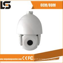 Carcasa de cámara domo de alta velocidad para cámaras de seguridad PTZ