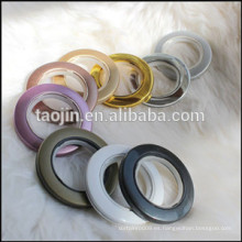 Ojales de cortina de plástico, ojales de cortina anillos