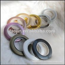 Oreillettes à rideaux en plastique, anneaux à rideaux anneaux