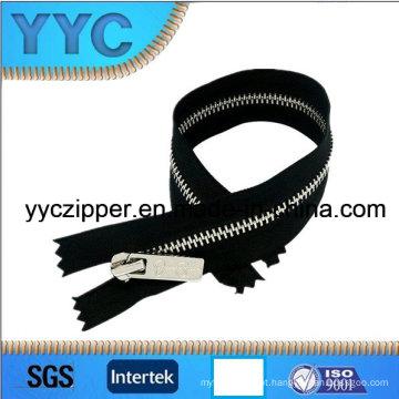 Atacado de alta qualidade personalizado Metal Zipper 3 #