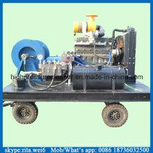 Diesel-Abflussrohr-Reiniger-Hochdruckwasserstrahl-Kanal-Reinigungs-Ausrüstung