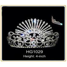 headband tiara crown newest pageant crown tiara rhinestone pageant crowns 4 inch crown and tiara bridal design