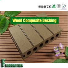 Decking WPC durable résistant aux fissures en plein air