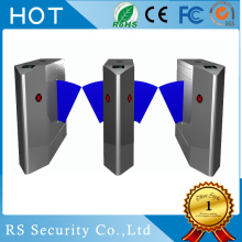 Kontrol Akses Turnstile Gate Flap Wing Barrier