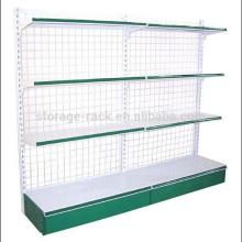 Stockage en acier Supermarket Display Rack / Rack de rangement en métal / Rack d'exposition
