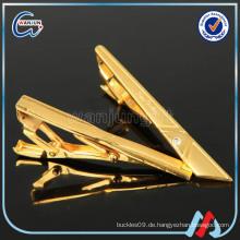 Sedex 4p zhongshan Großhandel leer gold Clip auf Krawatte Clip Hardware